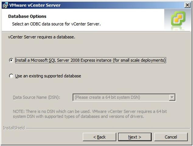 VMware vCenter 5 Installation Guide - vCenter Installation Wizard